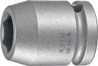 Kraftschraubersteckschlüsseleinsatz 720 1/2 Zoll 6KT SW 17mm L.38mm ASW