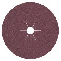 Fiberscheibe D.180mm K.60 f.HO/Metall Korund PROMAT
