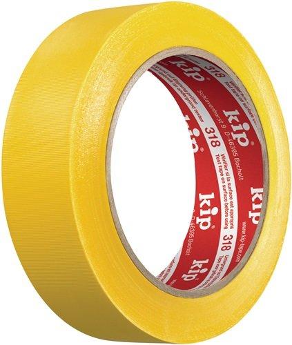 PVC Schutzband 318 gelb L.33m B.50mm Rl.KIP