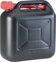 Transportkraftstoffkanister STANDARD Inh.10l schwarz HDPE