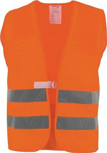 Warnweste Gr.univ.orange EN 20471 Kl.2 ASATEX