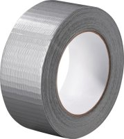 Gewebeband silber L.50m B.48mm Rl.PROMAT