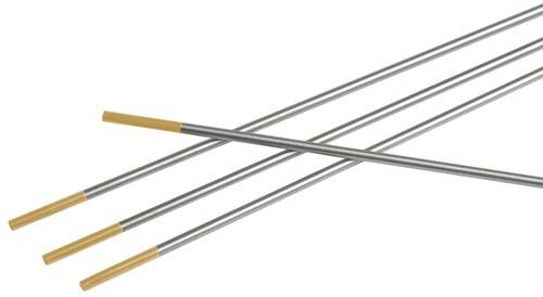 Wolframelektrode WL 15 D.2,4mm L.175mm gold Litty