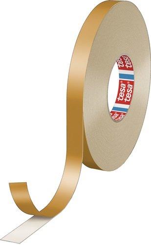 Doppelseitiges PE-Schaumklebeband tesafix® 4952 weiß L.50m B.19mm Rl.TESA