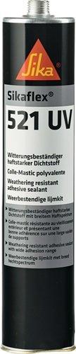 PU Hybrid Dichtstoff Sikaflex®-521 UV 300 ml weiß Kartusche SIKA