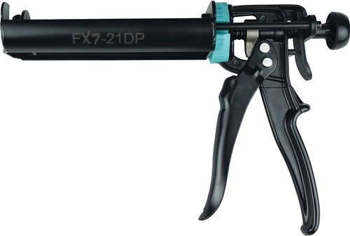 2K-Dosierpistole FX7-21DP f.2K-Kartuschen b.220 ml Übersetzung 17:1 IRION
