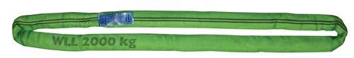 Rundschlinge DIN EN 1492-2 Umfang 4m grün Tragf.einf.2000kg PROMAT