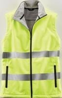 Warnweste Terrax Workwear Gr.L gelb EN 20471 Kl.1 TERRAX