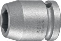 Kraftschraubersteckschlüsseleinsatz 720 1/2 Zoll 6KT SW 14mm L.38mm ASW